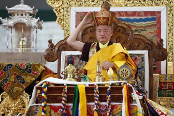 The Red Crown Ceremony by Gyaltsab Rinpoche