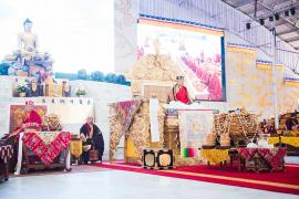 The Second Day of Losar: The Great Seating Ceremony