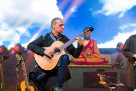 Nitin Sawhney Plays for the Karmapa: An Interview