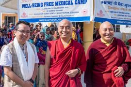 Kagyu Monlam Medical Camp:  A Lamp in Darkness