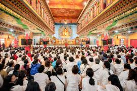 Audience with Goshir Gyaltsab Rinpoche for Friends of Kagyu Monlam and Gurusevakas: Bringing Benefit for the World and the Flourishing of the Dharma