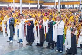 The People of Nyeshang  Sponsor the 36th Kagyu Monlam
