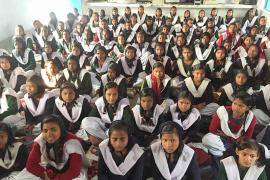 The Project to Support Girls' Education : the Hostel at Baseri