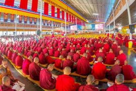 """""""The Vajra Life Force of Immortality:"""" Accumulating One Million Feast Offerings for His Holiness the Gyalwang Karmapa's Health"""