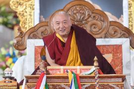 HE Goshir Gyaltsab Rinpoche on Mind Training: The Seventy-Two Exhortations Day One: Virtue in the Beginning and Middle