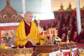 HE Goshir Gyaltsab Rinpoche on Mind Training: The Seventy-Two Exhortations: Day Two: Seeing Our Faults Clearly