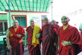 Helping the Disadvantaged in Bodhgaya: The Akong Tulku Memorial Soup Kitchen