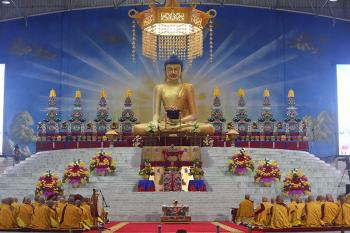 The Tormas at the 35th Kagyu Monlam